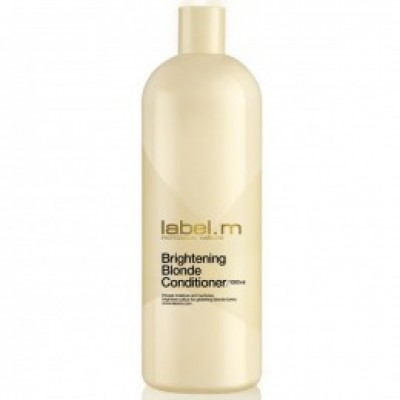 Balsam pentru par blond LABEL.M BRIGHTENING BLONDE CONDITIONER 1000 ML