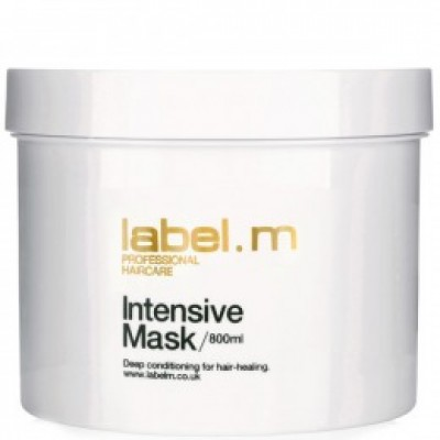 Masca pentru par degradat LABEL.M INTENSIVE MASK 800 ML