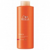 Balsam Hidratant pentru Par Fin si Normal - Wella Professionals Enrich Moisturizing Conditioner 1000 ml