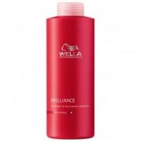 Balsam pentru Par Fin sau Normal Vopsit - Wella Professionals Brilliance Conditioner 1000 ml