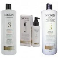 Nioxin - Pachet Maxi System 3 pentru parul cu tendinta notabila de subtiere, fin si vopsit