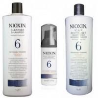 Nioxin - Pachet Maxi System 6 pentru parul normal spre aspru, cu tendinta dramatica de subtiere si cadere