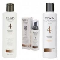 Nioxin - Pachet Medium System 4 pentru parul cu tendinta notabila de subtiere, fin si vopsit