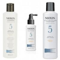 Nioxin - Pachet Medium System 5 pentru parul normal, subtiat, spre aspru, cu aspect natural sau vopsit