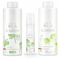 Pachet 2 Wella Elements Renewing - Sampon, Balsam si Spray Leave - In