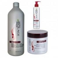 Pachet Biolage Matrix Repairinside - Sampon, Masca si Crema de Par