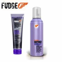 Pachet Fudge pentru Par Blond - Sampon si Spuma