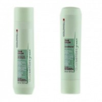 Pachet par colorat Goldwell Green Colour - Sampon si Balsam